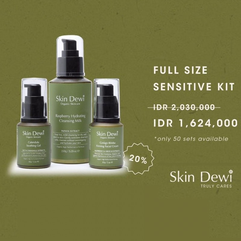 Skin Dewi Full Size SENSITIVE KIT - Beauty In One Click - BEAUTYHAUL