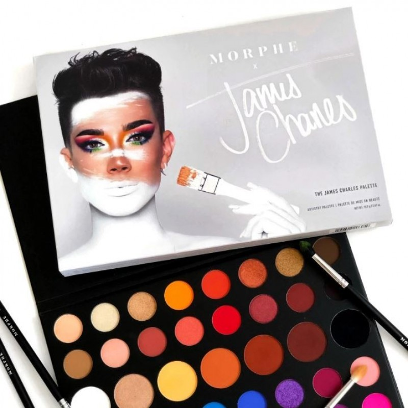 MORPHE THE JAMES CHARLES PALETTE - Beauty In One Click - BEAUTYHAUL